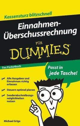 Einnahmenüberschussrechnung für Dummies - Das Pocketbuch