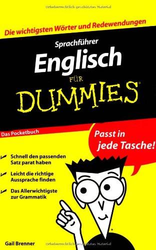 Sprachführer Englisch für Dummies - Das Pocketbuch